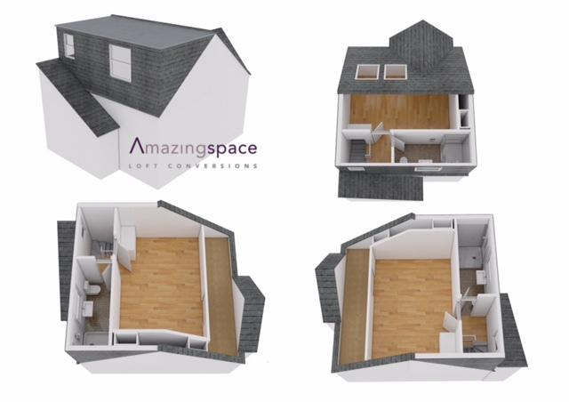Dormer - Room & En-suite to Rear