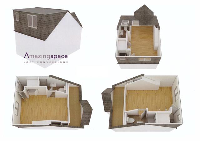 Dormer - Room & En-suite to Front